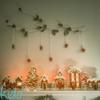 Gingerbread Candle Holder Village