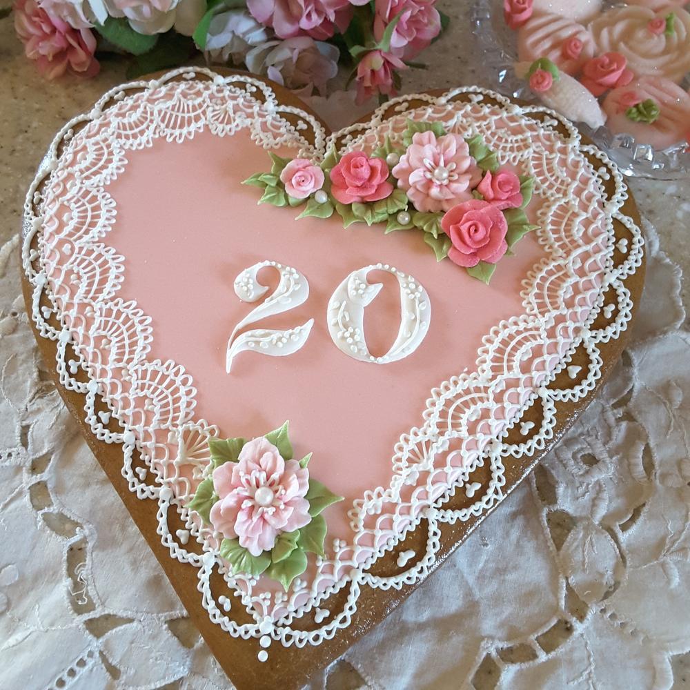 20th Anniversary keepsake