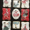 Norcross Lady Vintage Christmas Set