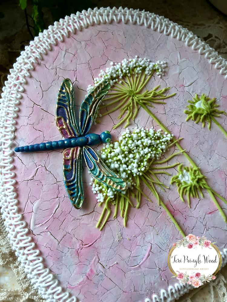 Dragonflies and lace