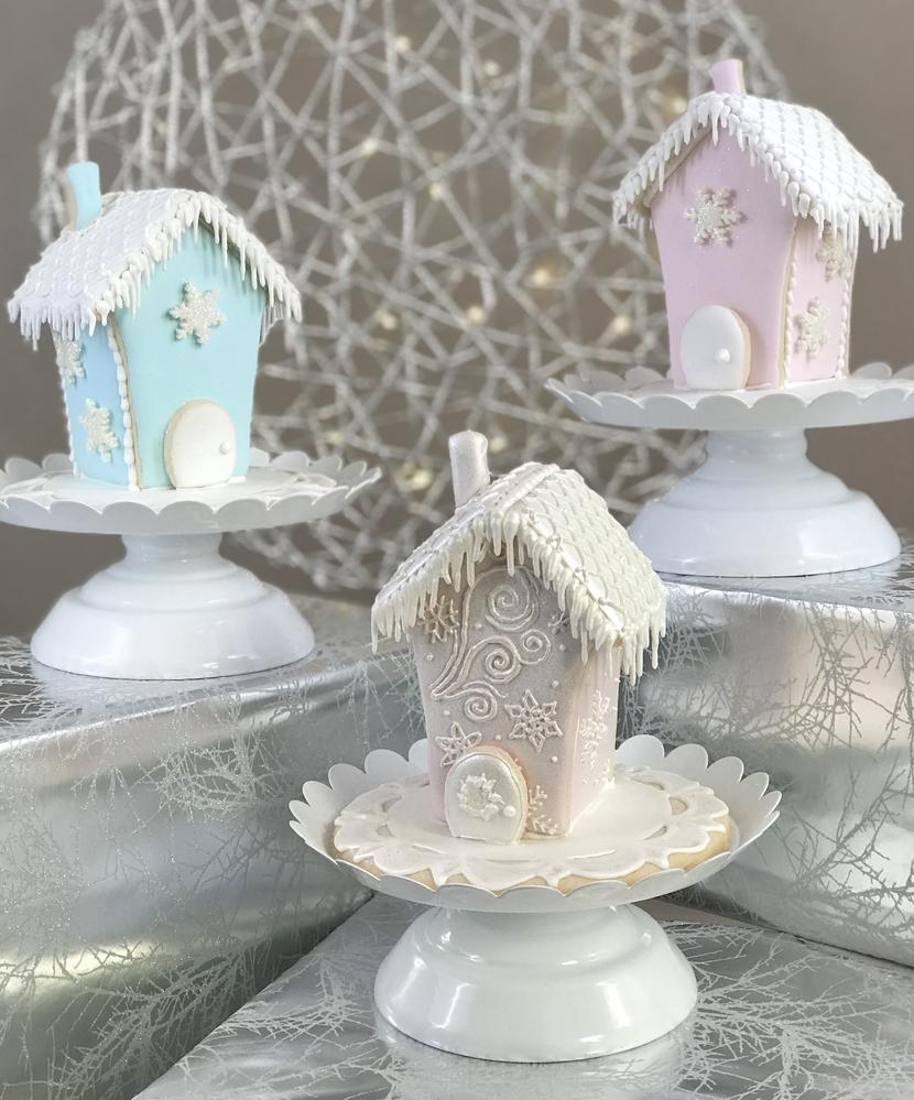 Mini Sugar Cookie Houses