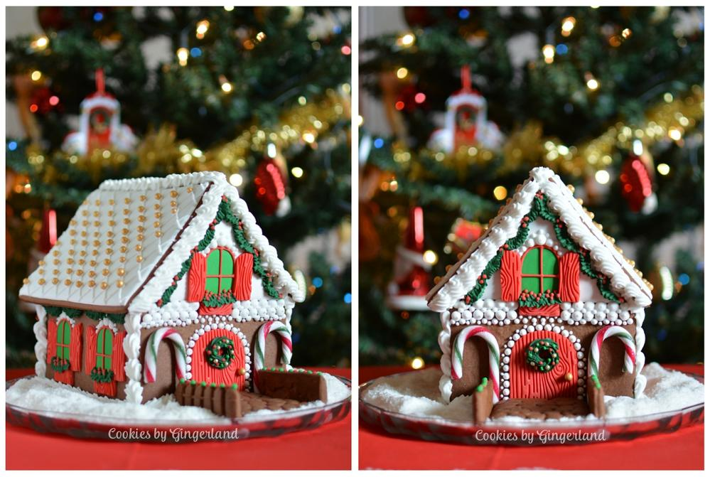 3D Gingerbread House