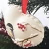 3-D Heart Ornament - Close-up