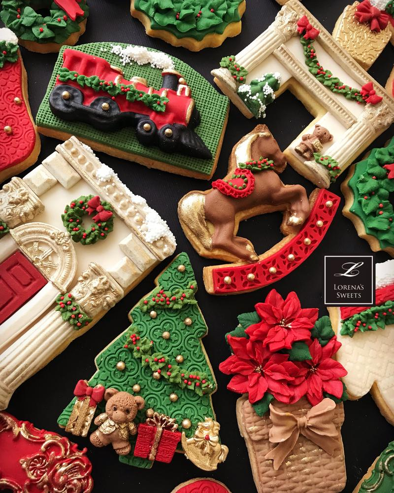 Lorena Rodríguez. Traditional Christmas cookies