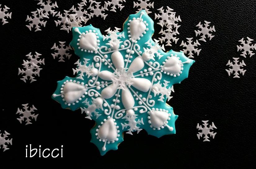Teal Snowflake