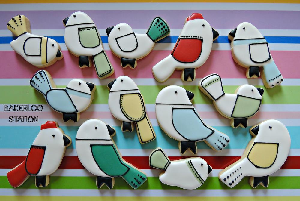 Sketchy Birds | Bakerloo Station