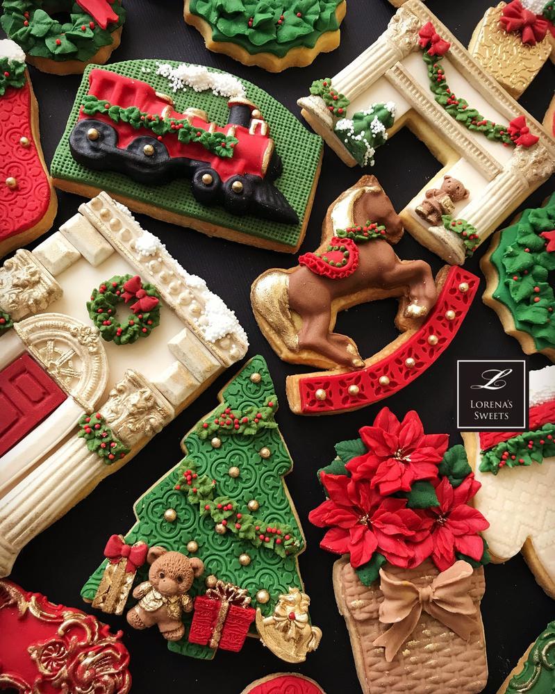 Lorena Rodríguez. Christmas cookies. Traditional