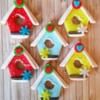 Christmas Bird Houses