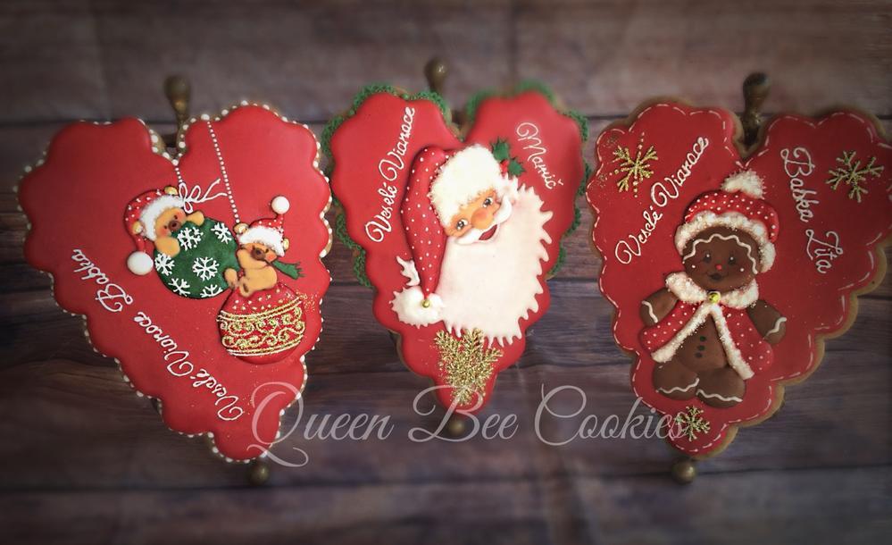 Big Christmas hearts Gingerbread