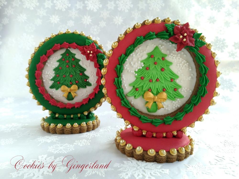 3-D Snowglobe Cookies