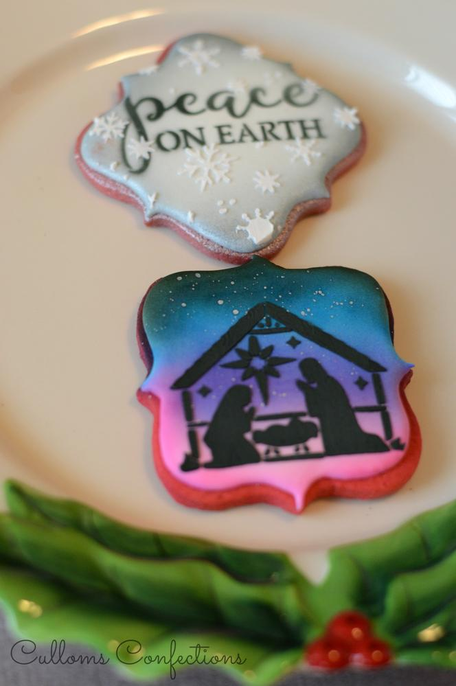 Christmas Nativity Cookie Connection