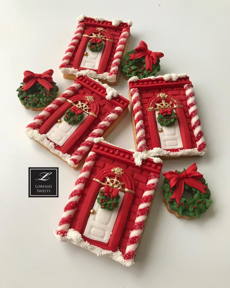 Lorena Rodriguez. Candy shop cookie . Christmas Cookies