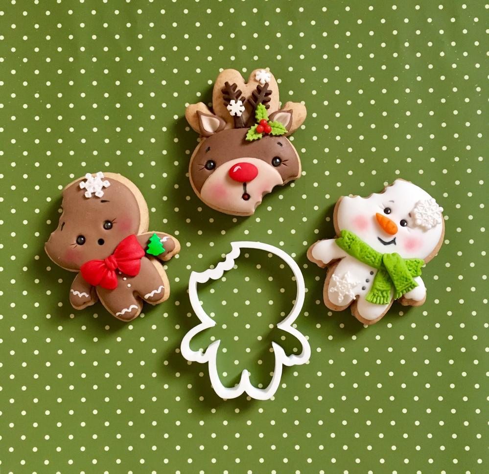 3 in 1 Christmas Cookies