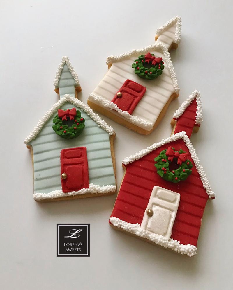 Lorena  Rodríguez. Christmas cookies. Church cookies