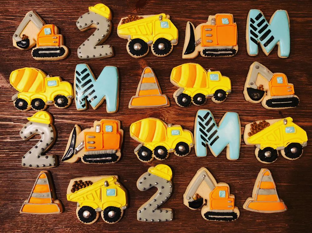 Construction Cookies