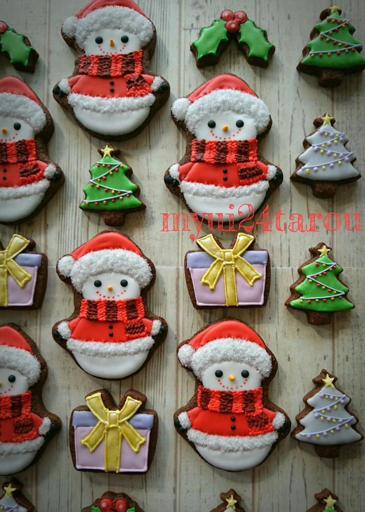 Little snowman cookie sets