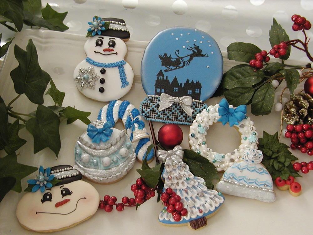 A Blue & White Christmas