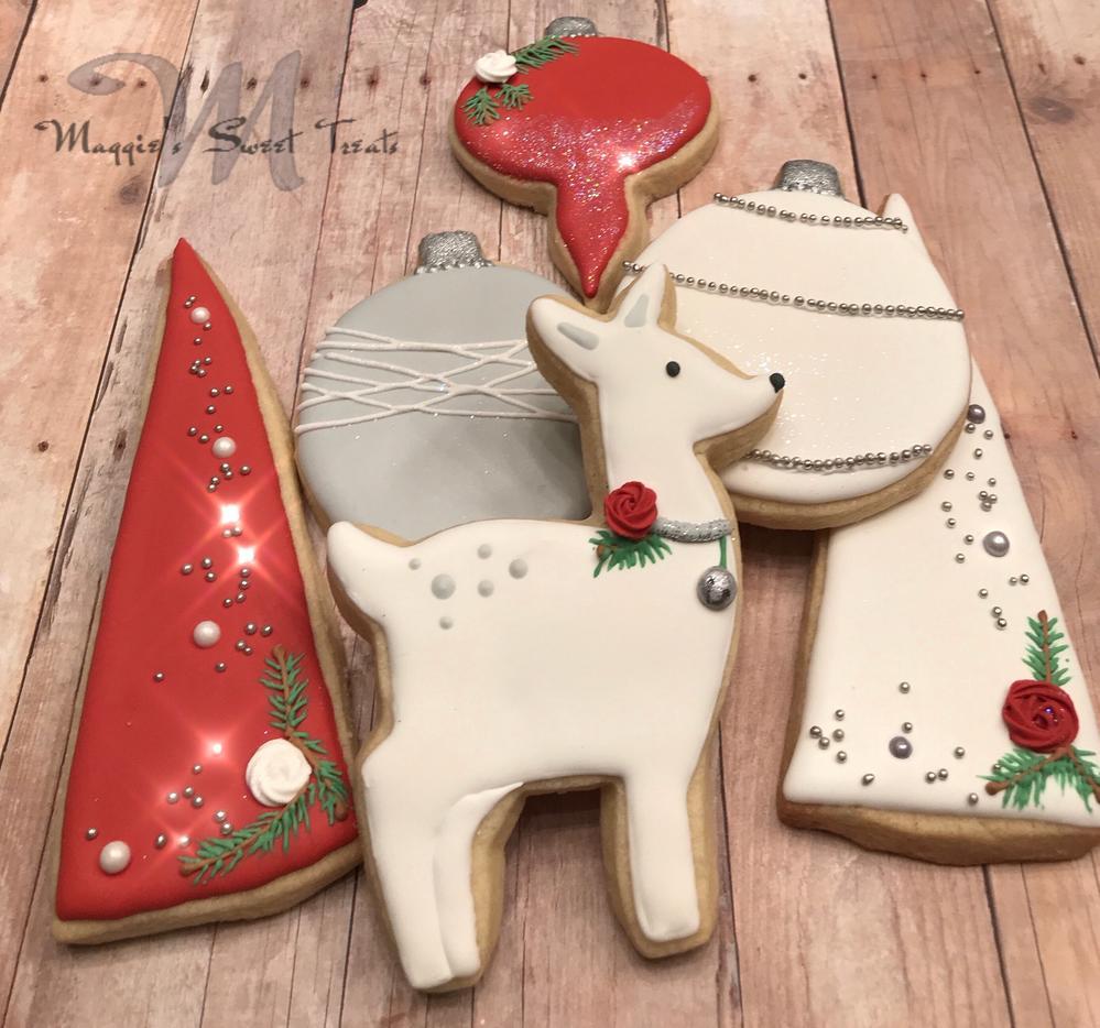 Elegant Christmas Cookies