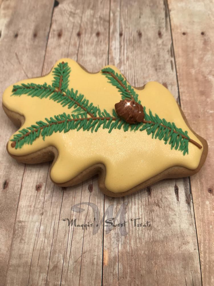 Christmas Branch Cookies