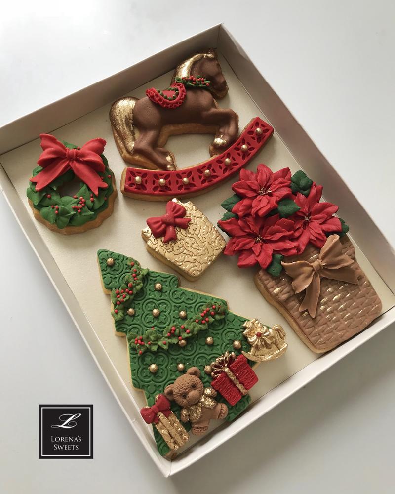 Lorena Rodríguez. Traditional Christmas cookies.