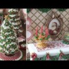 3-D Christmas Fireplace Cookie Accessories