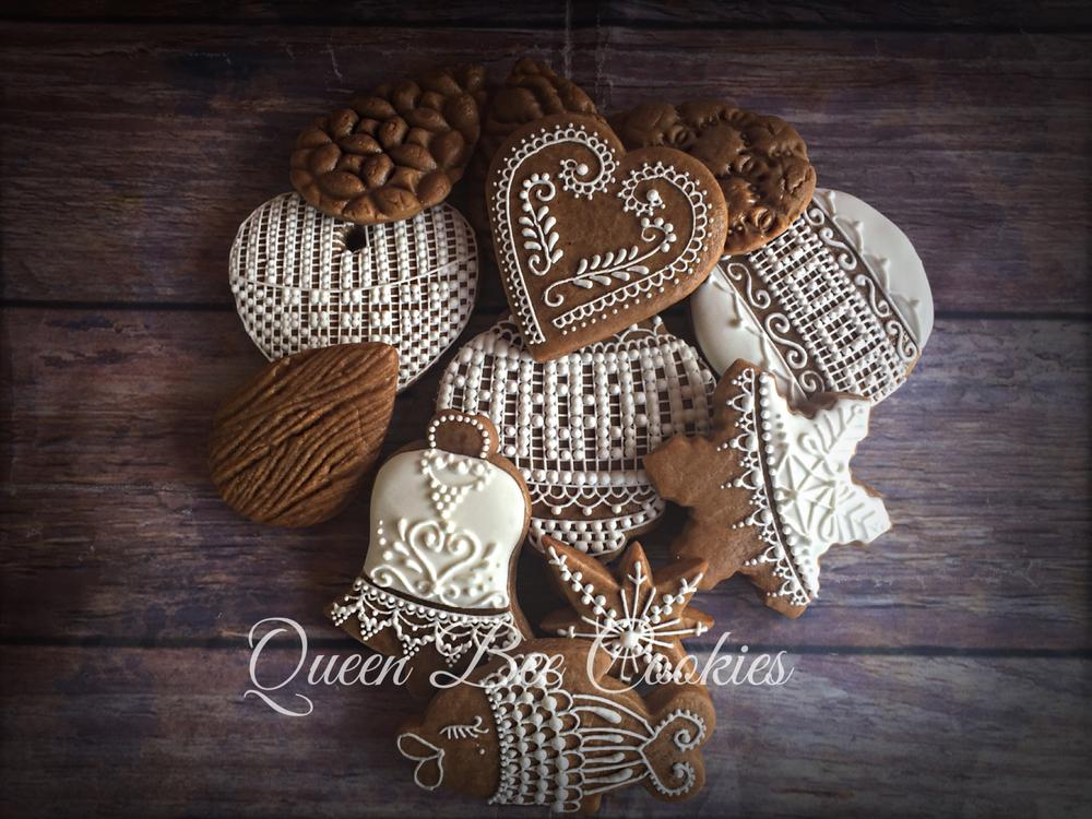 Traditional Slovakian Gingerbread cookies