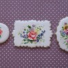 Handpainting on Royal Icing, Roses