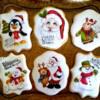 Handpainted Christmas Cookies