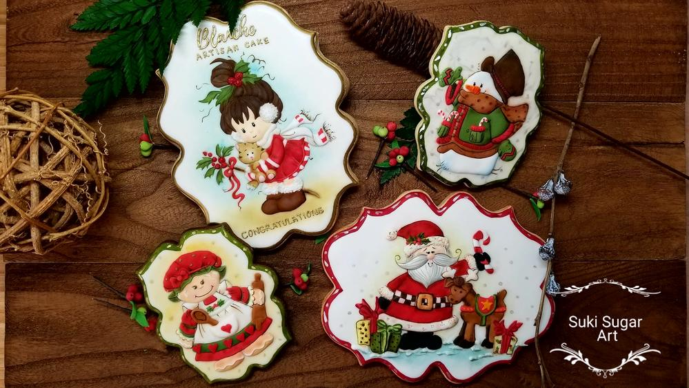 Christmas Cookies by Suki Lau