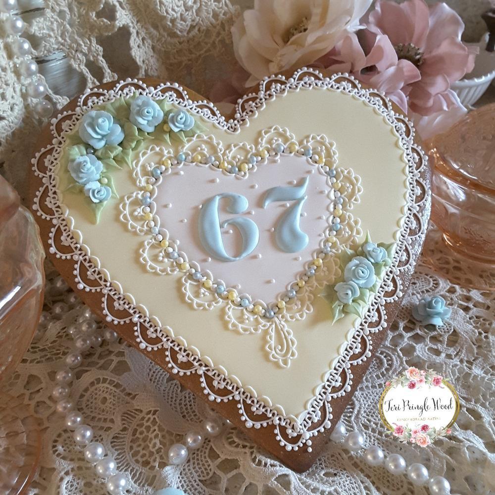 67th Anniversary keepsake