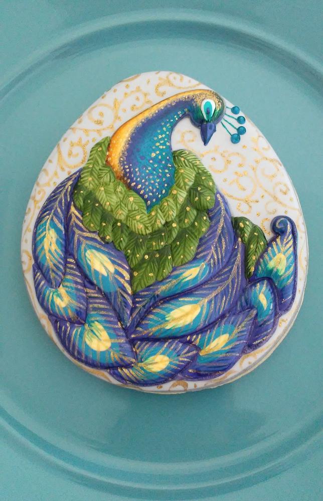 Golden Peacock (Cookie Celebration)
