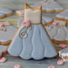 Bridesmaid Dress Cookies by Emma's Sweets