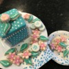 Cookie Box and Luau Cookies