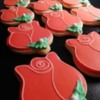 Red Rose Cookies