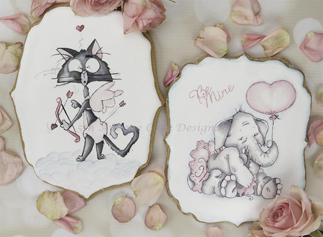 Sweet Valentines Cookies Cards
