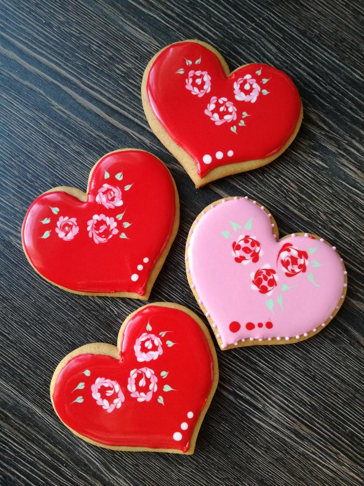 St. Valentine Hearts | Cookie Connection