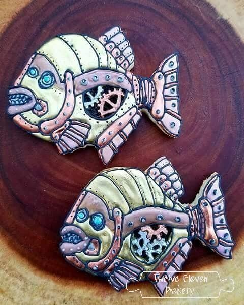 Mr. Blub Blub Steampunk Fish