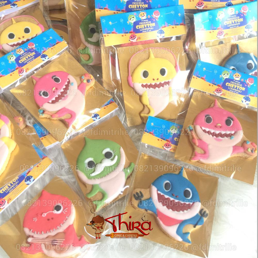 Pinkfong baby shark cookies