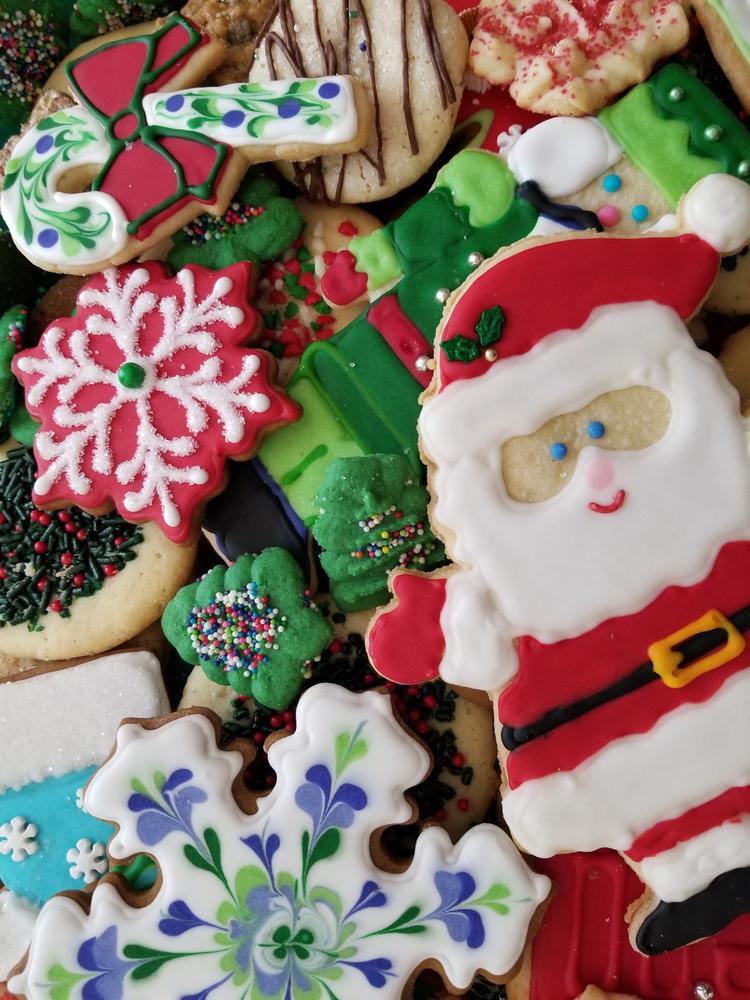 Christmas Santa Platter 2017