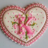 "Monogram Cookie ""K"" (Cookie Celebration)"