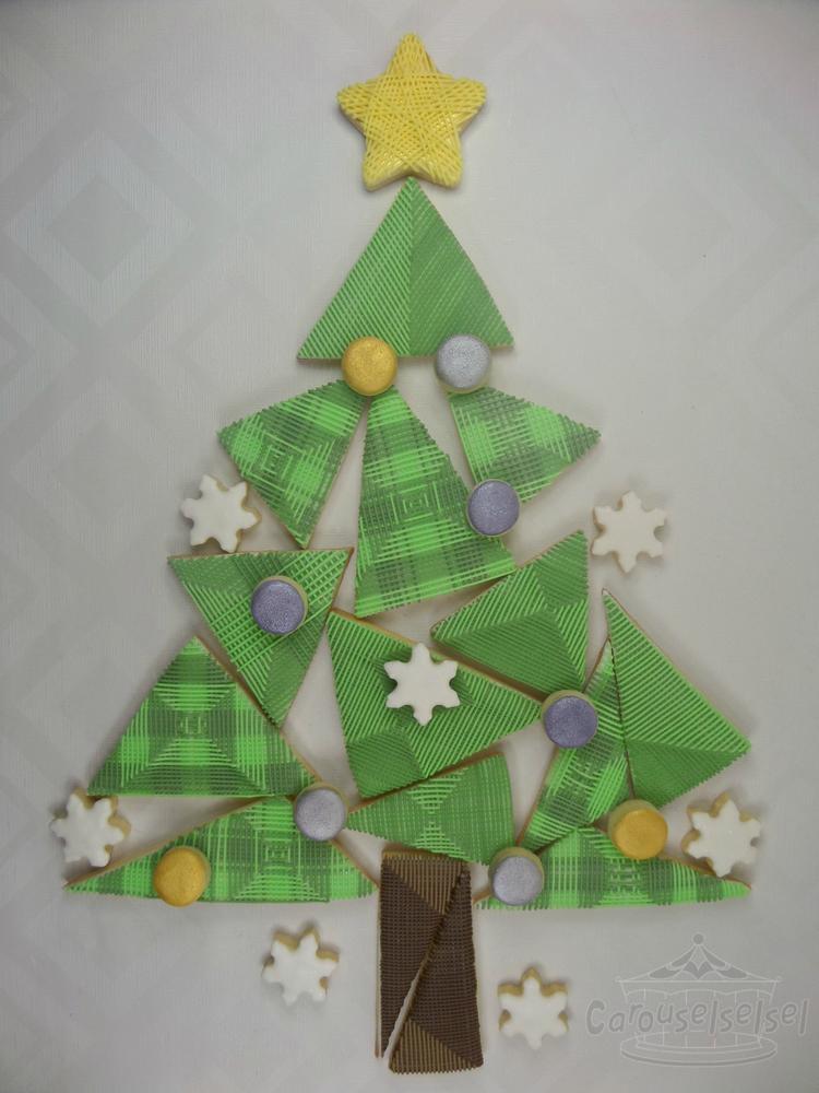 Stringwork Xmas Tree