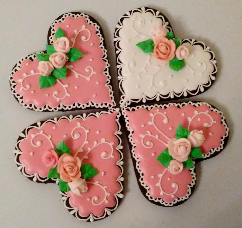 Simple Hearts (Cookie Celebration)