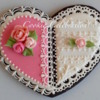Pink and White Heart (Cookie Celebration)