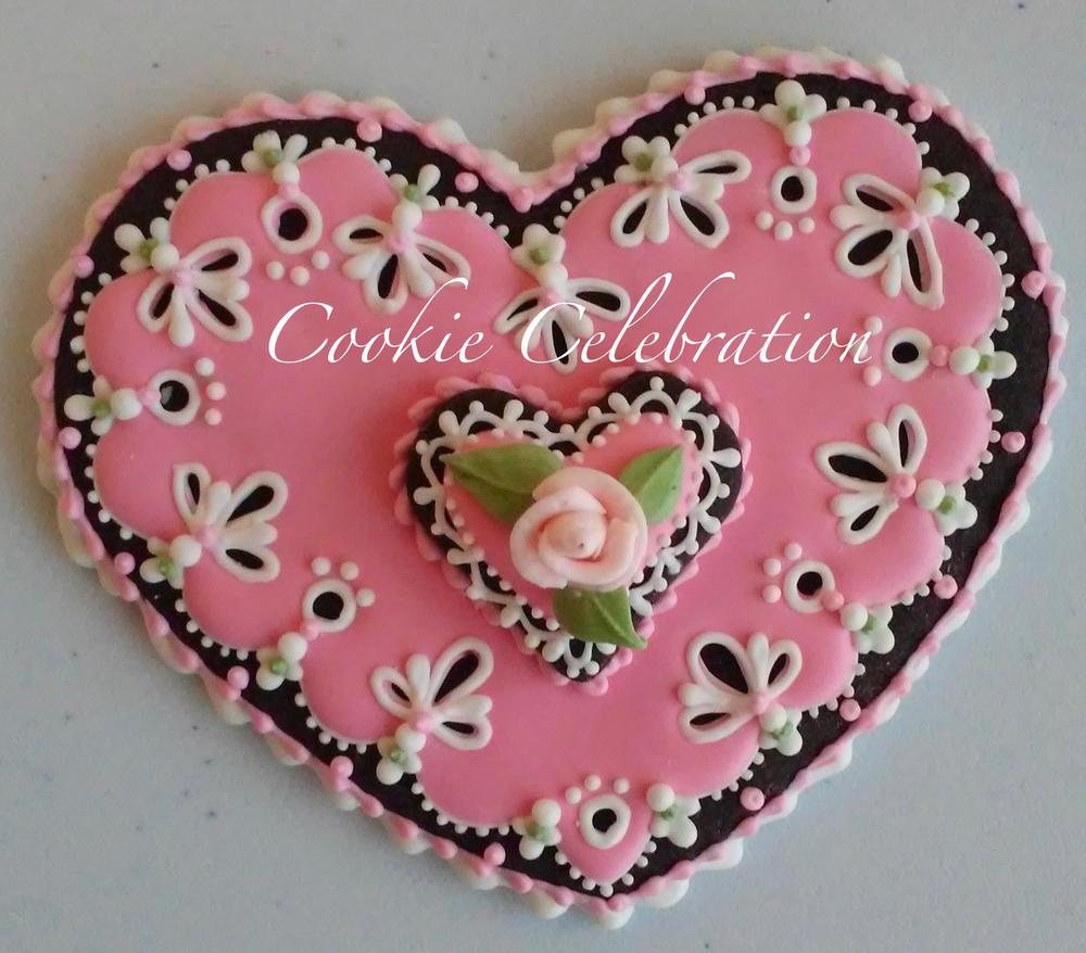 Pink Heart (Cookie Celebration)