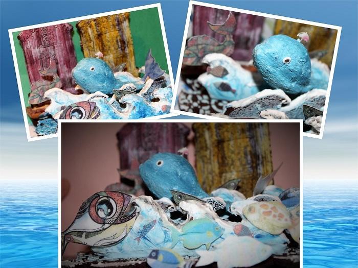 3-D Underwater Cookie