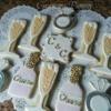 Elegant Bridal Favor Cookies