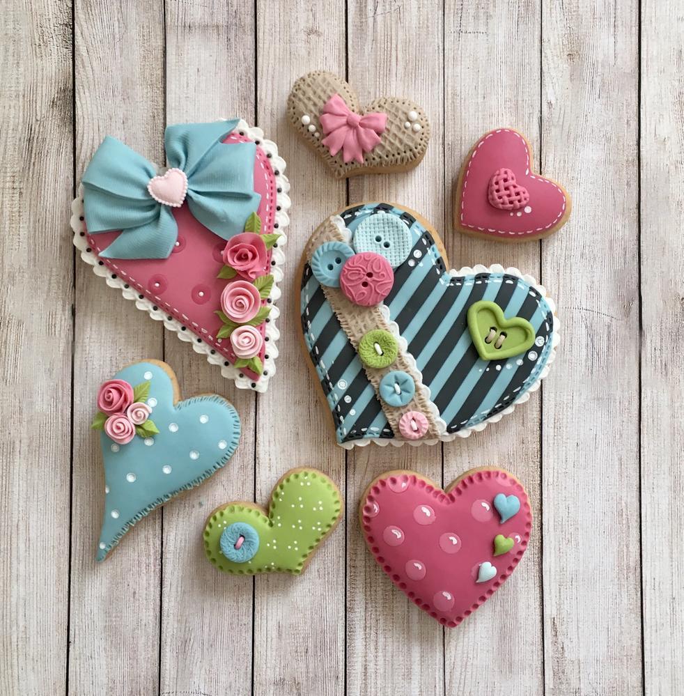 Gorjuss themed hearts