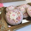 Gingerbread Cookies with Roses