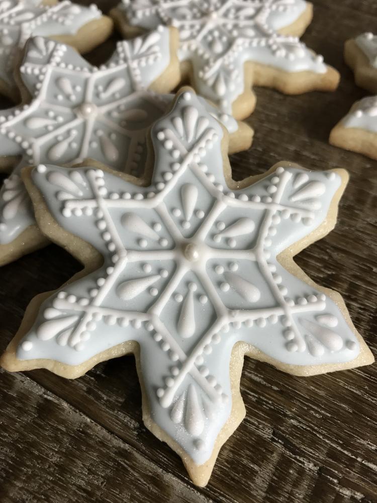 Paiges Designer Cookies SNOWFLAKE 2018