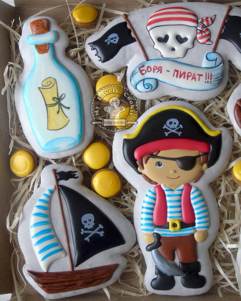 pirate and treasure